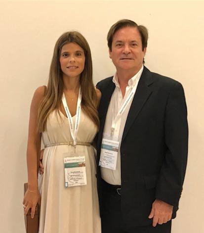 La Dra. Elena Bonafonte y el Dr. Sergio Bonafonte